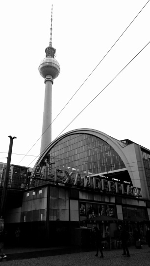 Train station and TV Tower at Alexanderplatz (Photo by Chiara Dalla Costa via Trover.com)
